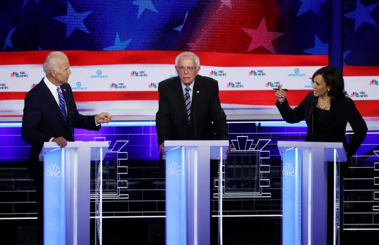 Kamala Harris rises, Joe Biden slips in polls after first 2020 Democratic debate
