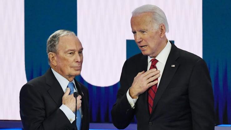 Mike Bloomberg plots spending blitz to support Joe Biden's run for president